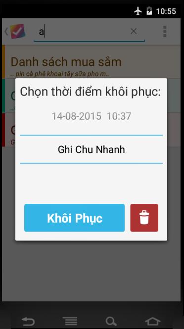 Ghi Chu Nhanh NoteDoList Todo List